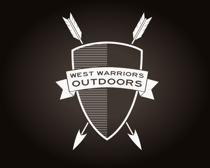 West Warriors Outdoors Logo Dark