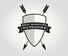 West Warriors Outdoors Logo Design