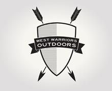 West Warriors Outdoors Logo Design